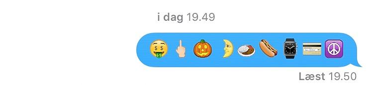 sendte emoji