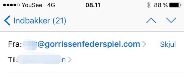 Mail adresse