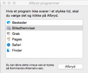 AfbrydProgram