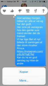 Kommentar i SMS iOS10